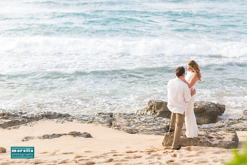 Oahu north shore wedding photographer, Marella Photography