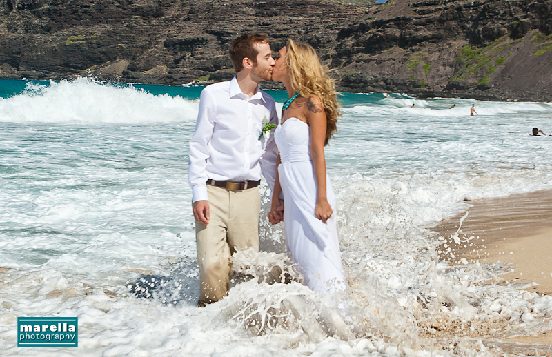 Hawaii Wedding Photographer Hawaiian Beach Wedding Makapuu Jess